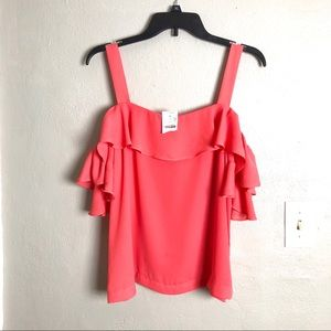 NWT J Crew Off Shoulder With Straps Sheer Top 10